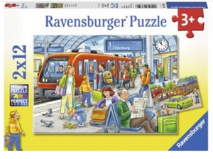 Ravensburger 2 X 12 Piece All Aboard Puzzles