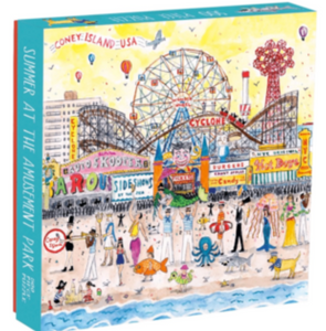 Summer at the Amusement Park Galison 500 Pc Puzzle