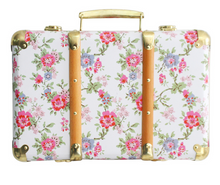 Load image into Gallery viewer, Alimrose Vintage Style Carry Case Cottage Rose