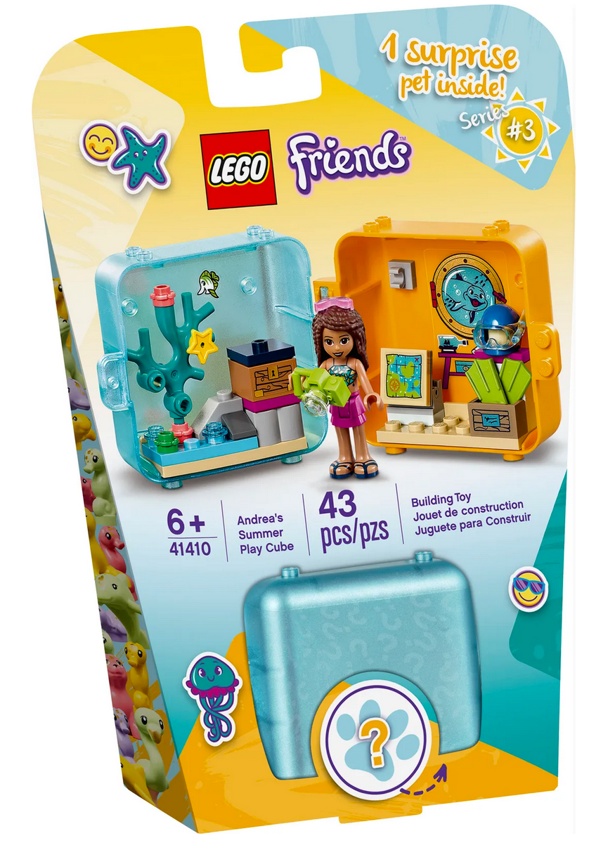 Lego Friends Andrea's Play Cube 41410