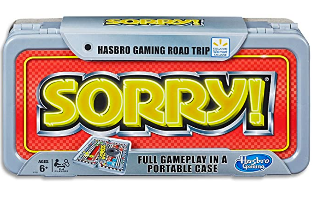 Hasbro Sorry Road Trip Edition