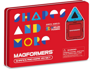 Magformers Shapes and More 20 Piece Set