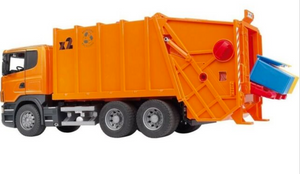 Bruder Scania Rear Loading Garbage Truck