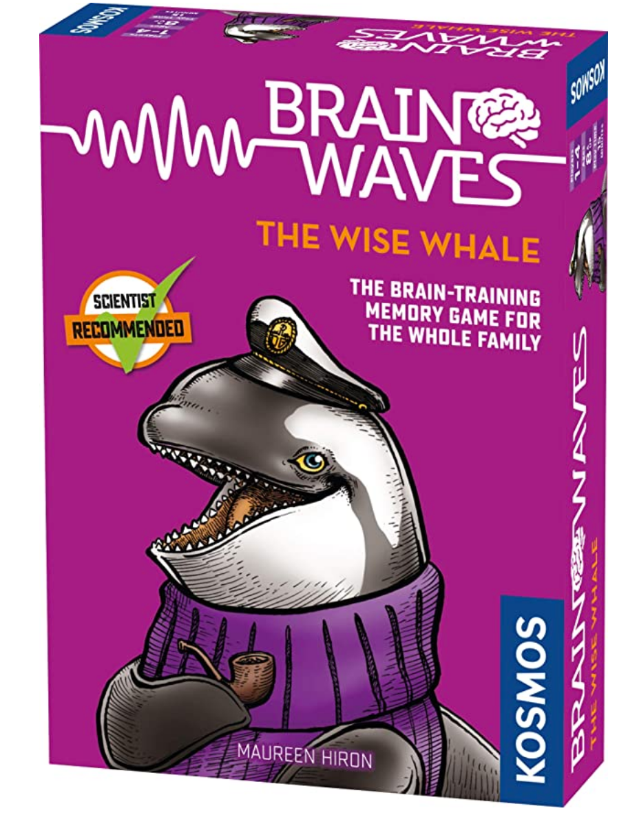 Brainwaves the Wise Whale