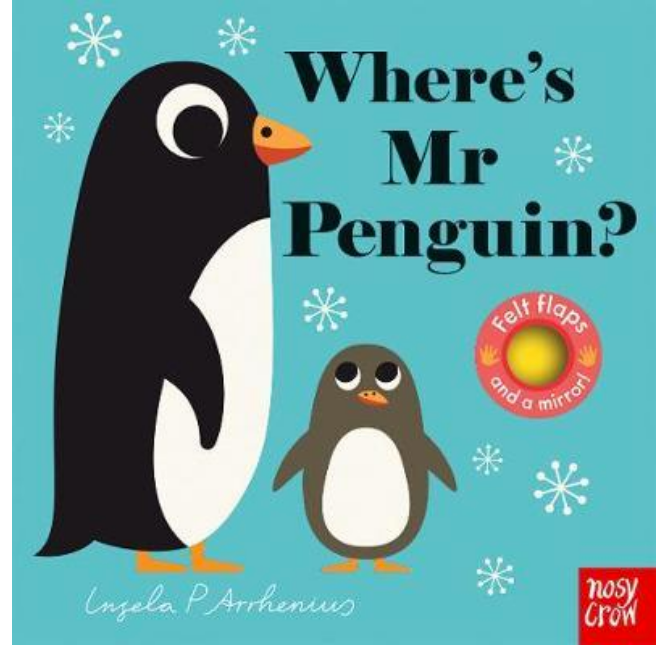 Where's Mr Penguin? - Board Book with Felt Flaps