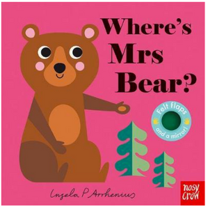 Where's Mrs Bear? - Board Book with Felt Flaps