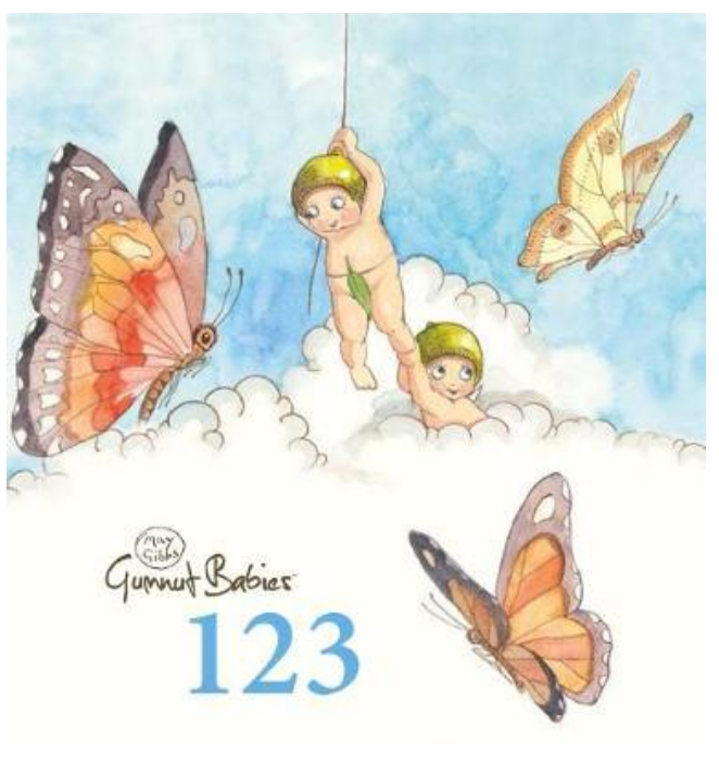 Gumnut Babies 123 - May Gibbs - Board Book