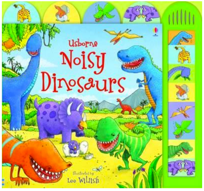 Usborne Noisy Dinosaurs - Board Book with Sounds