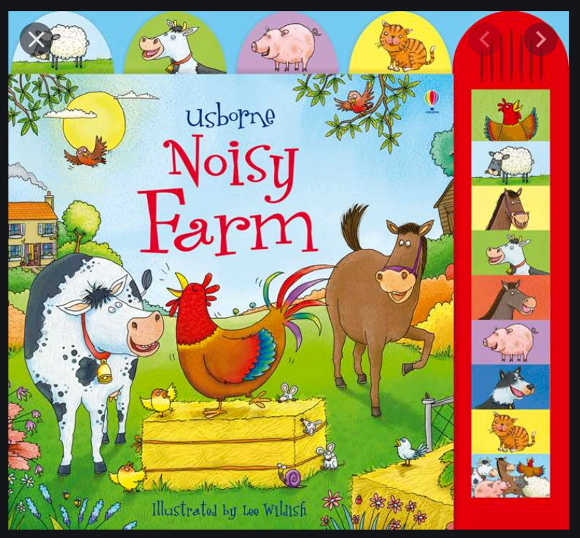 Usborne Noisy Farm - Board Book with Sounds