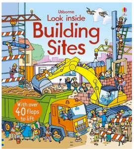 Usborne Look Inside a Building Site