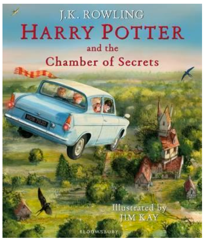 Harry Potter and the Chamber of Secrets - Illustrated Edition - J. K. Rowling & Jim Kay