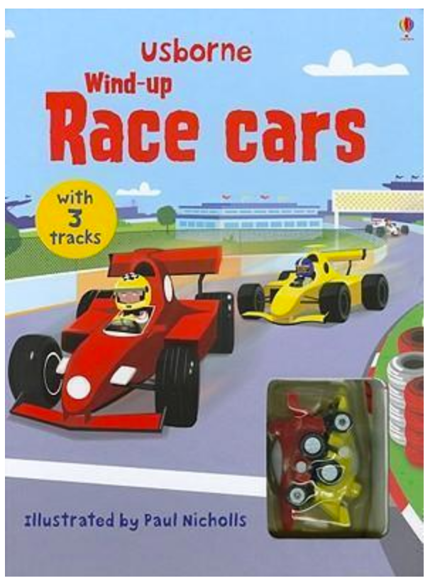 Usborne Wind Up Racing Cars