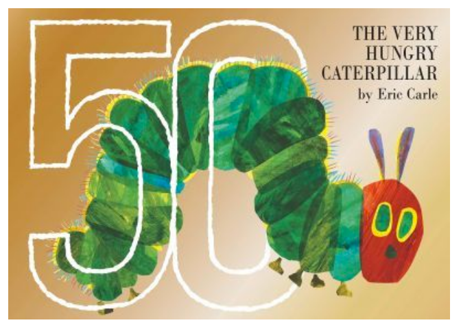 The Very Hungry Catepillar 50th Anniversary Edition - Eric Carl - H/B