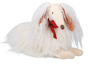 Moulin Roty Les Coquettes Chien Blanc Scarlette