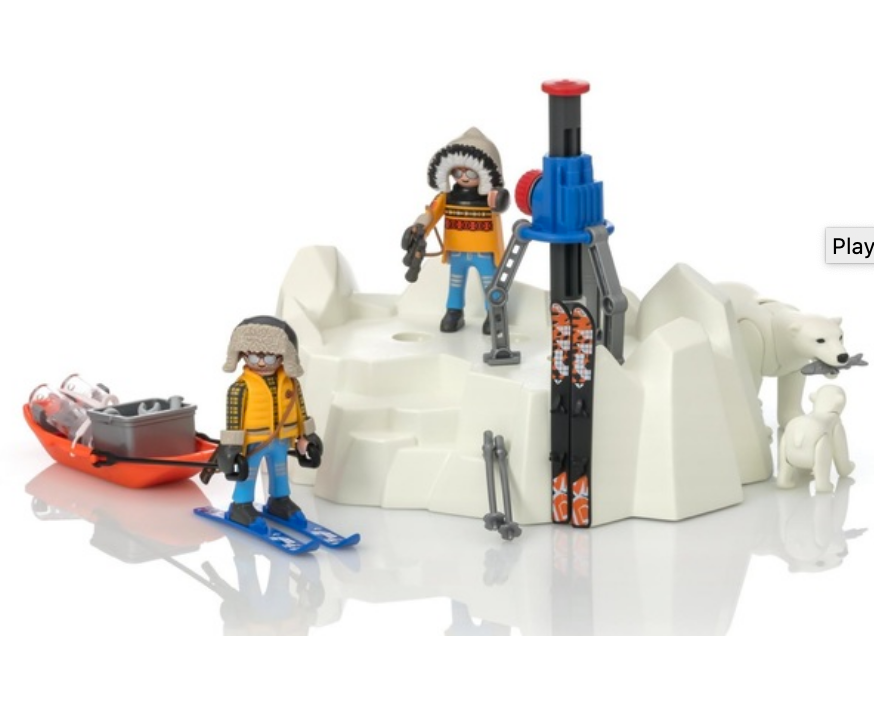 Playmobil Arctic Explorer with Polar Bears 9056