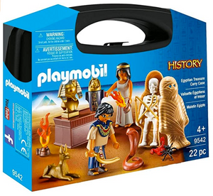 Playmobil Eqgyptian Treasure Carry Case 9542