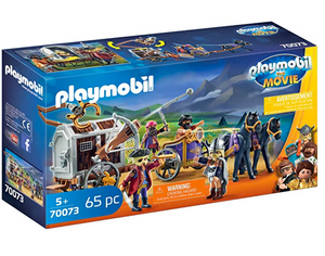 Playmobil: The Movie Charlie with Prison Wagon 70073