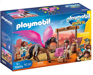 Playmobil: The Movie - Marla and Del with Flying Horse - 70074