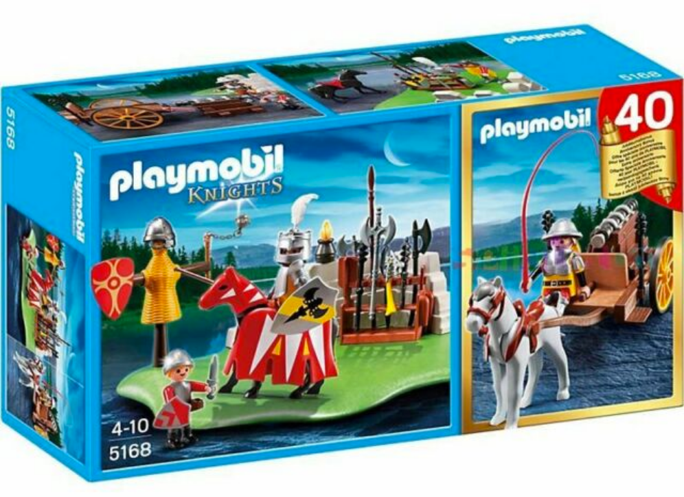 Playmobil Knights 40th Anniversary Set 5168