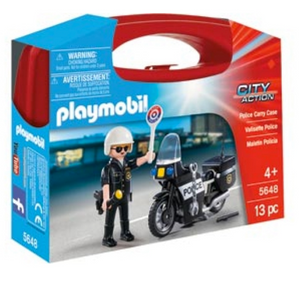 Playmobil Carry Case Police 5648