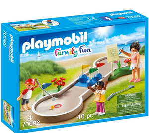 Playmobil SUmmer Fun Mini Golf 70092