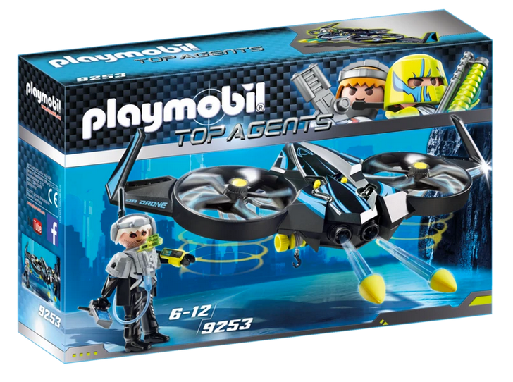 Playmobil Top Agents Mega Drone 9253