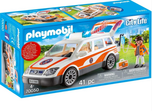Playmobil Paramedics Car 70050