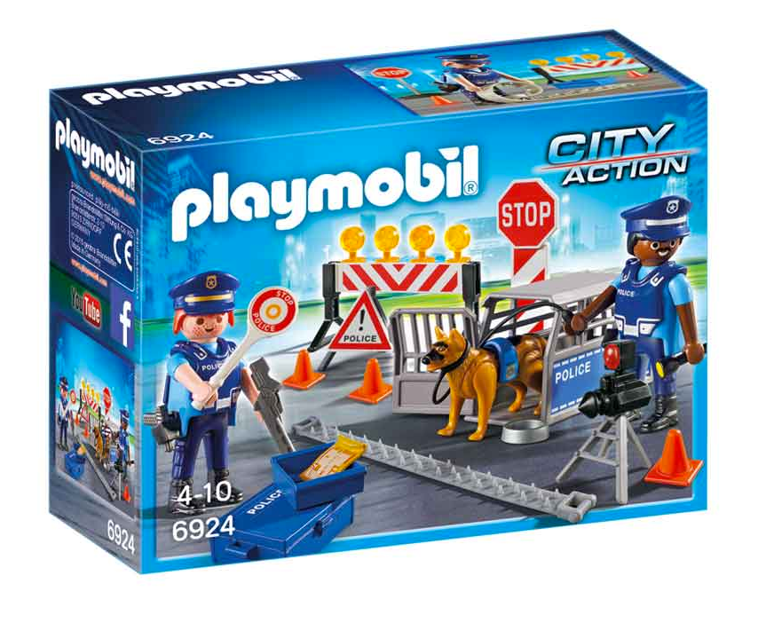 Playmobil Police Road Block 6924