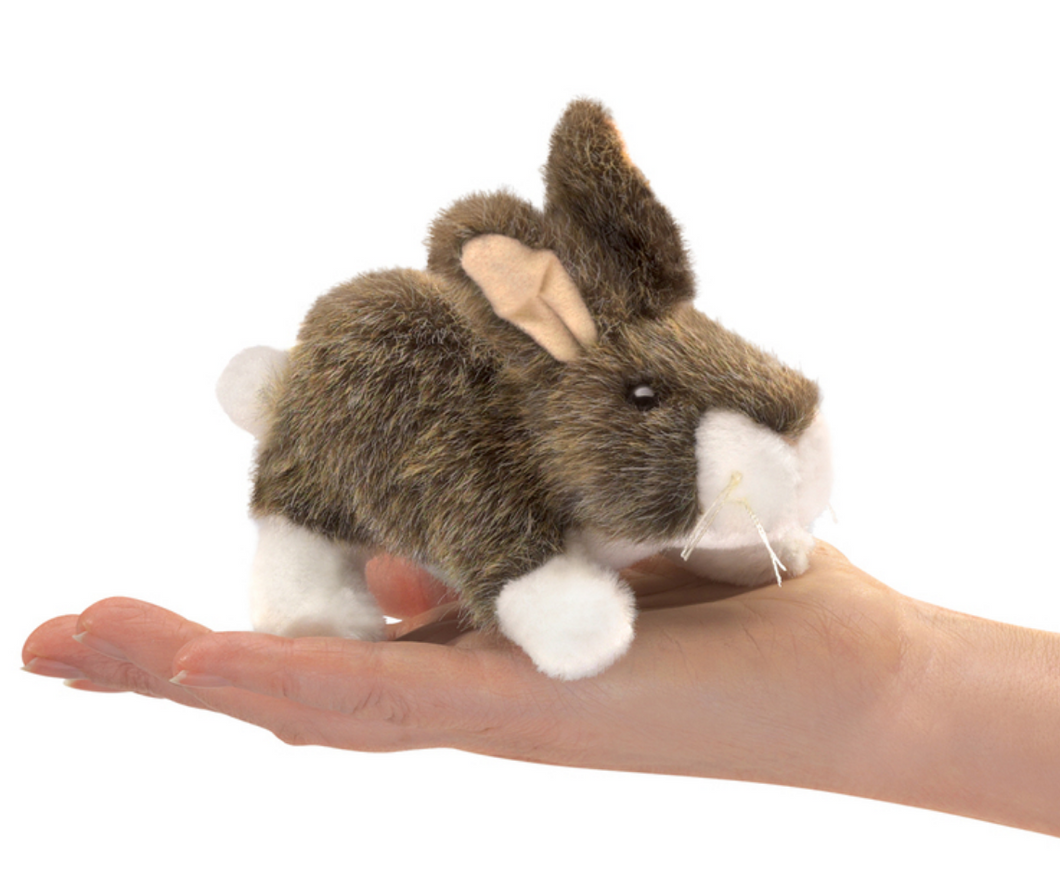 Folkmanis Mini Cottontail Rabbit Puppet