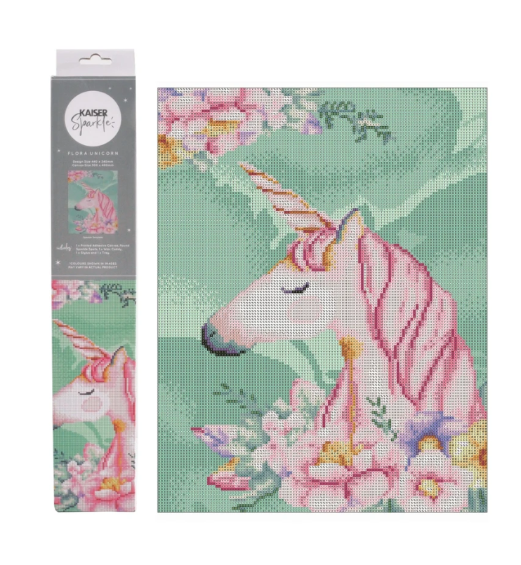 Kaiser Sparkle Kit Flora Unicorn