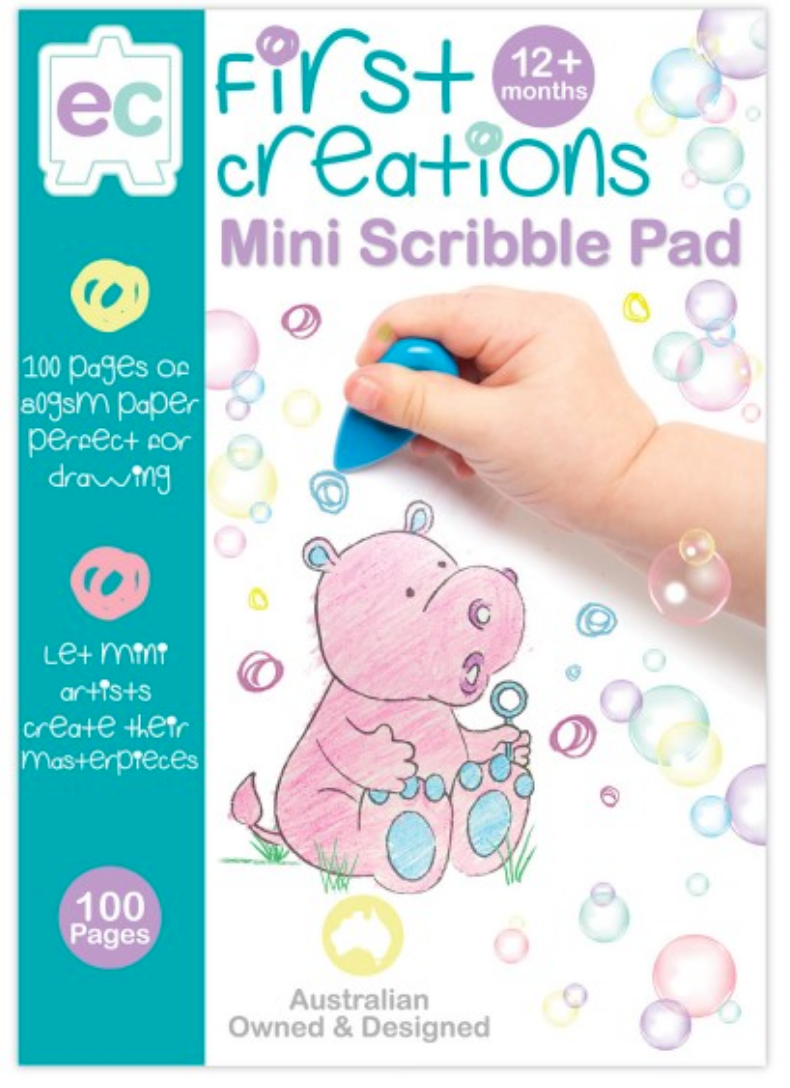 EC First Creations Mini Scribble Pad
