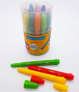 Superwing Silky Crayons 18 Colours