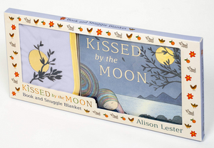 Kissed by the Moon Board Book & Snuggle Blankey Gift Set - Allison Lester