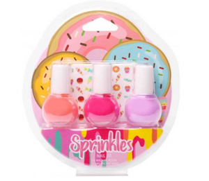 Sprinkles Nail Kit with Stickers