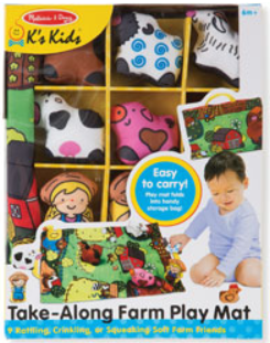 K's Kids Take-along Farm Play Mat