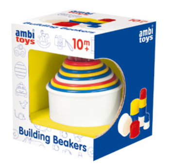 Ambi Toys Building Beakers