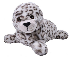Wild Republic Mini Ecokin's Harbor Seal Plush Toy