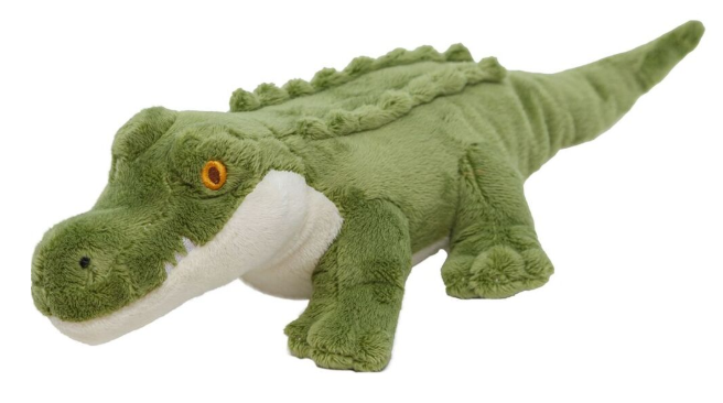 Wild Republic Mini Ecokin's Crocodile Plush Toy
