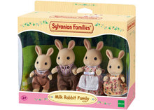 Load image into Gallery viewer, Sylvanian Families Milk Rabbit Family