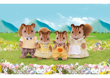 Load image into Gallery viewer, Sylvanian Families Walnut Squirrel Family