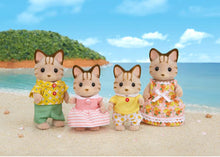 Load image into Gallery viewer, Sylvanian Families Striped Cat Family