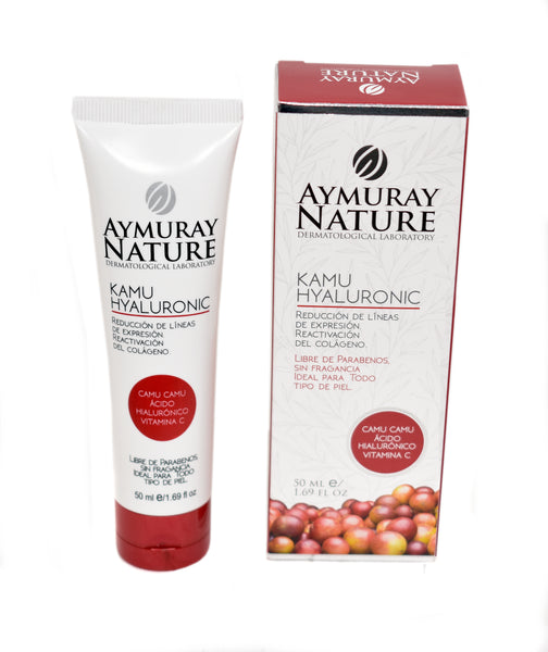 CREMA AYMURAY KAMU HYALURONIC 50 ML.