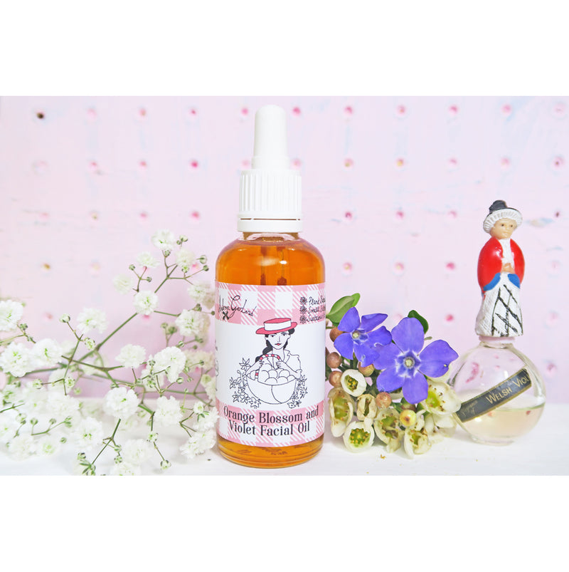 Orange Blossom and Violet Facial Oil - Andrea Garland