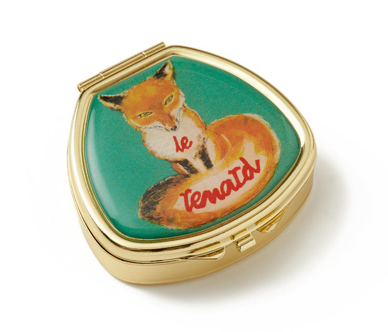 Vintage Inspired Pill Box - Le Renard - Andrea Garland