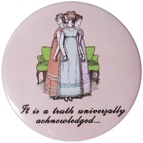 Universally Acknowledged  Pocket Mirror