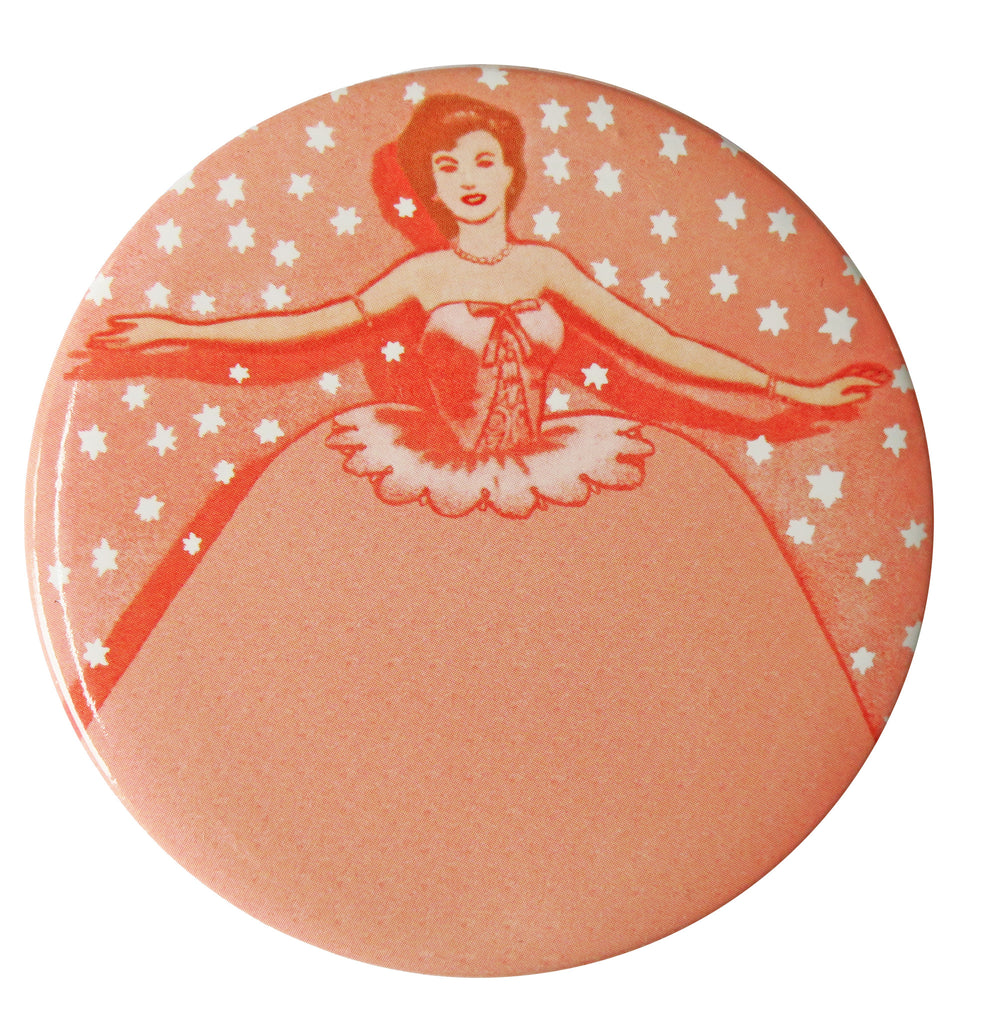 Ballerina Pocket Mirror - Andrea Garland