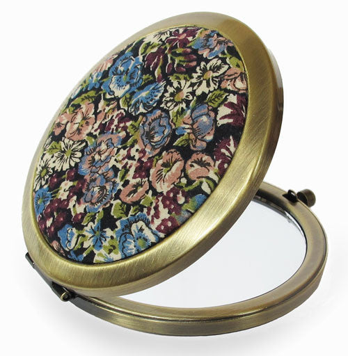 Liberty Compact Mirror - Chive Purple - Andrea Garland