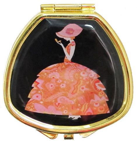 Vintage Inspired Pill Box - Crinoline Lady