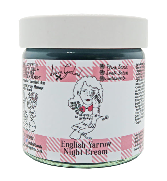 English Yarrow Night Cream - Andrea Garland