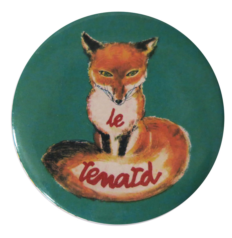 Le Renard Pocket Mirror - Andrea Garland